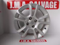 Vauxhall corsa R16 INCH ALLOY WHEEL removed from 2008 model