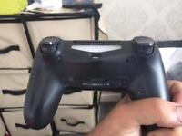 PS4 controller and router