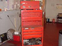 3 x Sealey American Pro Mechanic Tool Boxes COMPLETE WITH TOOLS