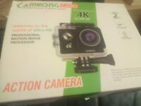 Brand new action camera Camkong Brand.