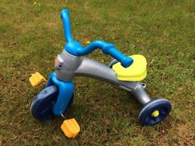 Fisher Price Grow With Me Trike Tricycle - used, fair condition