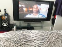Tv stand large up to 60 inch great condition 07704493968