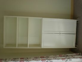 White Display and Storage Unit = £25