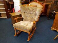 Oak Cottage rocking Chair
