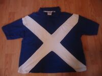 Scotland St. Andrews Cross Polo Shirt (Size XL)