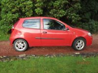 Fiat Punto, 'Active Sport', £700 o.n.o, tow bar, good tyres, recent exhaust, MOT Feb, runs well..