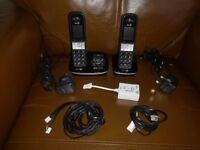 BT8500 Twin digital Cordless Phones! Mint Condition! FOR SALE!