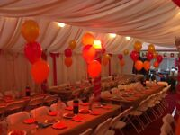 MARQUEE HIRE COMPANY FOR SALE WITH A FULL COMPLETE PACKAGE THAT INCLUDES SIX MARQUEES AND A VAN.