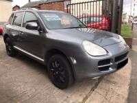 Porsche Cayenne 3.2 V6 Tiptronic S AWD 5dr - 2005, 2 Owners, 15 Service Stamps, MOT JULY 2018, £4495