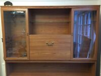 Two dinning room cabinets