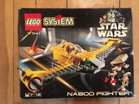 Collectible Official LEGO Star Wars: Naboo Fighter Set 7141