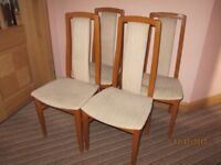 4 Dining Chairs (No table)