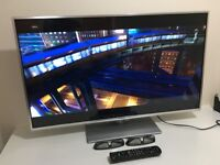 "Panasonic Viera TX-L42ET60B 42"" Full HD 1080P 3D LED, Smart Viera, Wi-Fi Built in with Freeview HD"