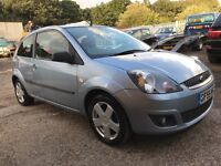 2006 55 reg ford fiesta 1.25 CLIMATE,ONLY 62k miles,1 YEARS MOT,JUST SERVICED