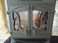 Aarrow Nouveau 2 kW Cast Iron Flame Effect Electric Heater