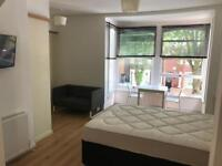 Huge ensuite bedroom for a couple in an amazing shared house
