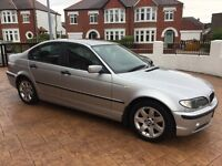 Silver BMW 3 SERIES 2.0 320d SE 4dr, Automatic, leather seats