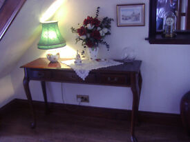 CONSOLE TABLE / HALL TABLE 48 inches LONG HEIGHT 30 inches