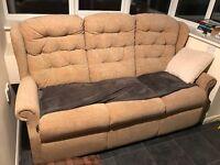 3 seater G Plan Sofa £50.00