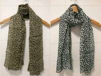 Brand new leopard print scarf