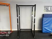 Dumbbell Weights and Squat Rack