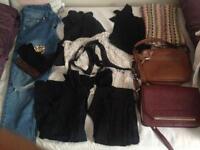 Ladies clothes joblot size 8/10