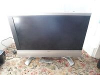 "Sharp Aquos LC32P50E 32"" LCD Television with Stand and Remote Control"