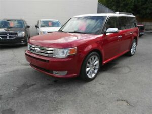 2012 Ford Flex LIMITED, LEATHER, 4 SUNROOFS