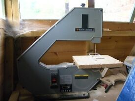 Black and Decker band saw.