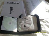 KARAOKE SET 10 DISCS + 2 BOOKLETS