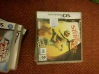 Three DS games