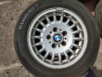 Genuine OEM BMW Style 13 rims, 15 inch × 7J