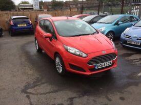 2014 Ford Fiesta 3dr 1.2L Petrol LOW MILEAGE