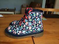 children's Dr Marten style boots