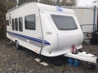 hobby excelsior 520tmf touring caravan