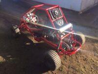 Off road buggy, ATV, quad, yamaha yzf thundercat motorbike engine 600cc not rage
