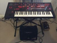 Brand New, Immaculate Roland JD-XA Synthesizer PLUS Roland KC-110 Stereo Keyboard Amp PLUS Stand