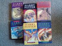 7 harry potter books jk rowling
