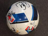 Euro 2016 Football - signed by Northern Ireland Team