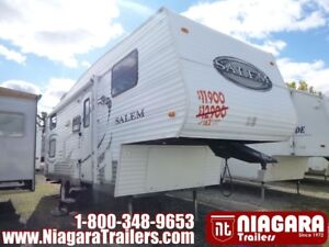 2010 Forest River Salem LE 24BHSS Fifth Wheel
