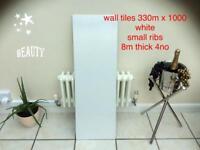 Wall tiles ,330 x 1000 small ribs 4 no