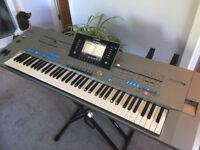 Yamaha Tyros 5 with 76 keys arranger workstation keyboard