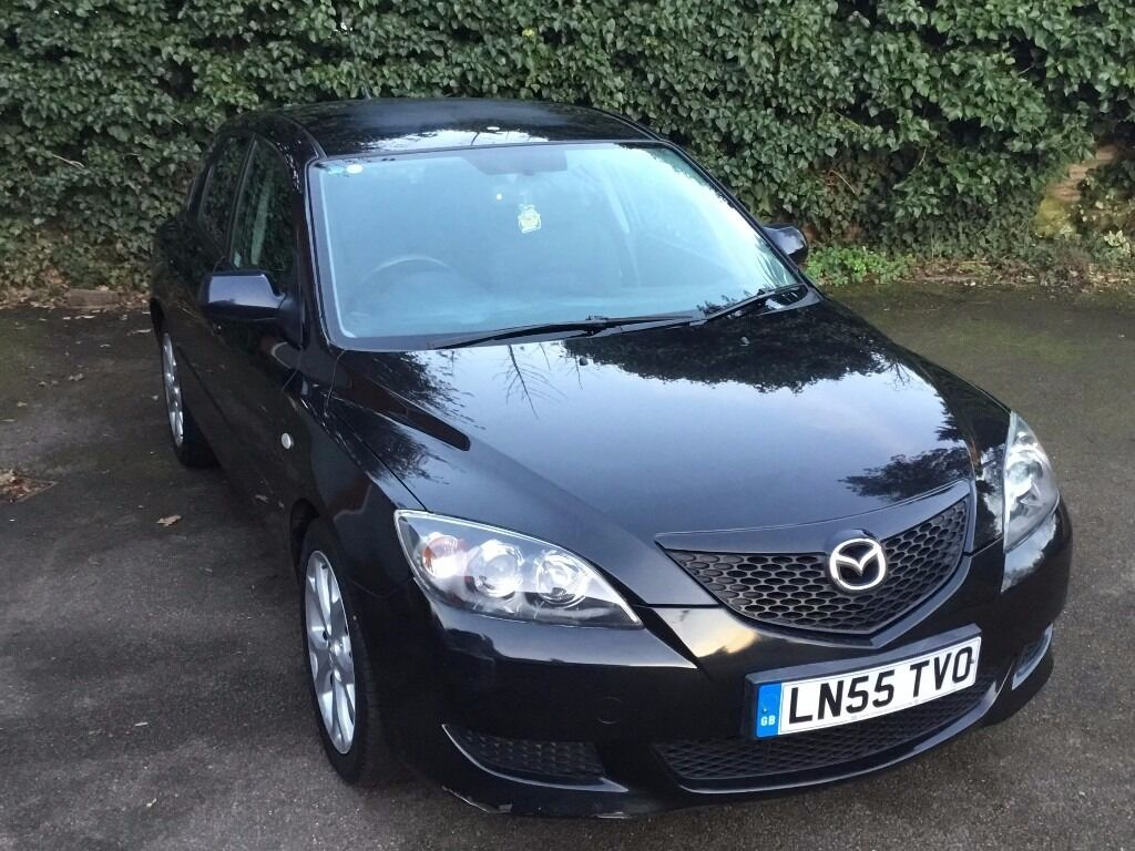 2005 55 mazda 3 ts hatchback 5 door two previous owner. Black Bedroom Furniture Sets. Home Design Ideas
