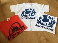 Bundle of 3 rugby t-shirts - age 7 - 8 years