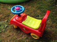 Toddle play car