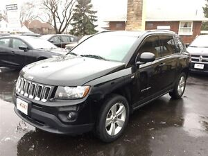 2014 JEEP COMPASS NORTH - CRUISE, FOG LIGHTS, A/C, CD!
