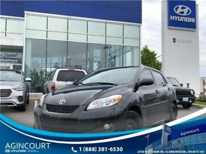 2013 Toyota Matrix SUNROOF|ALLOYS|FOG LIGHTS|45948KMS