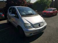 52 PLATE MERCEDES A170. 1.7 TURBO DIESEL. PX TO CLEAR