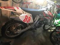 CRF/YZF 290cc Honda CRF with Yamaha YZF 250cc engine