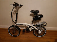 Folding electric bike - similar to Brompton.
